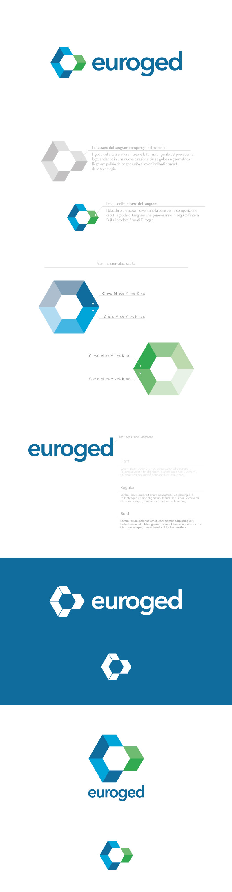 Euroged studio logo design