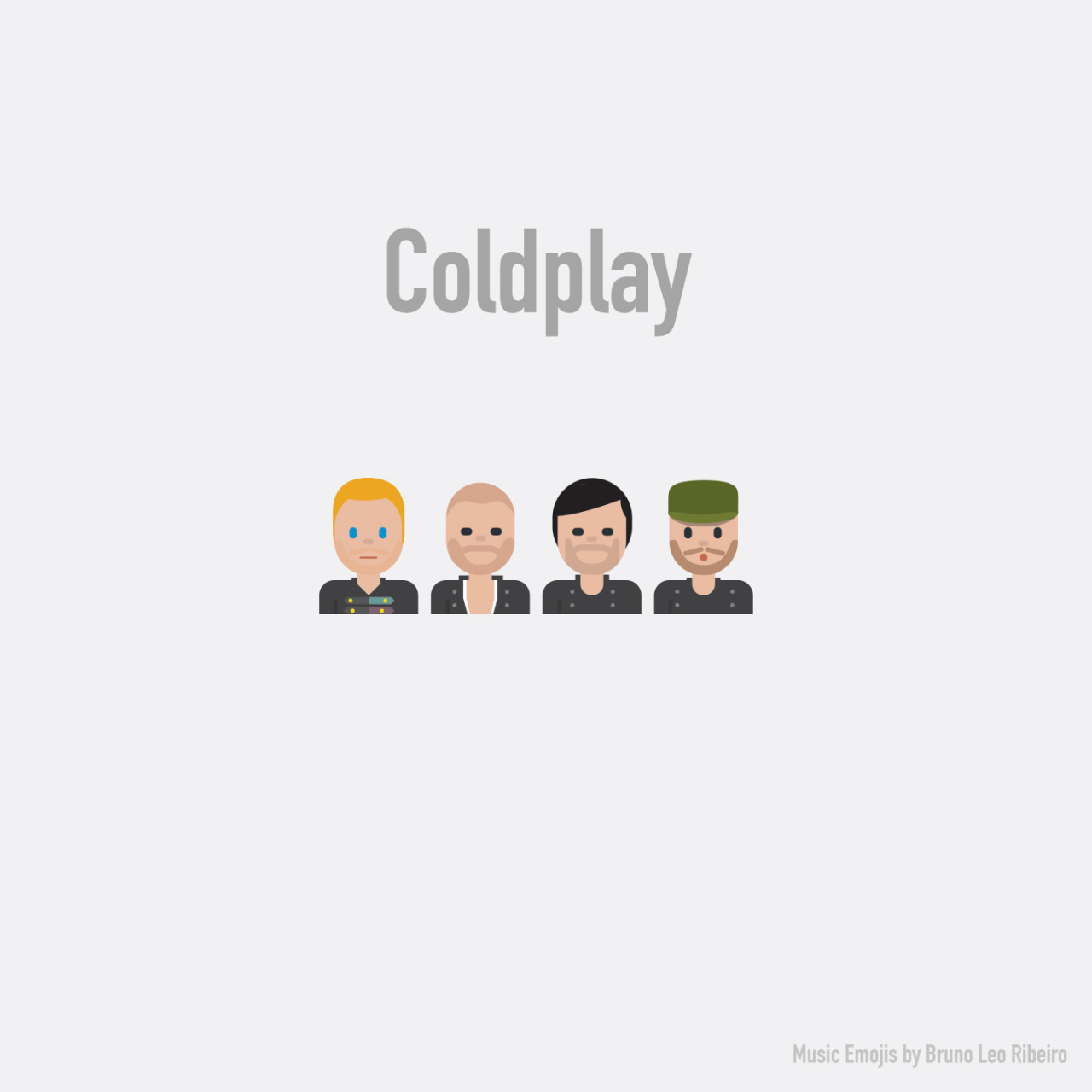 Coldplay emoji