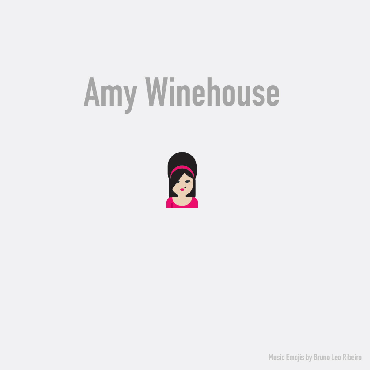 Amy Winehouse emoji