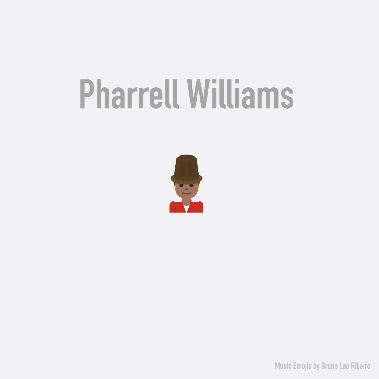 Pharrell Williams emoji