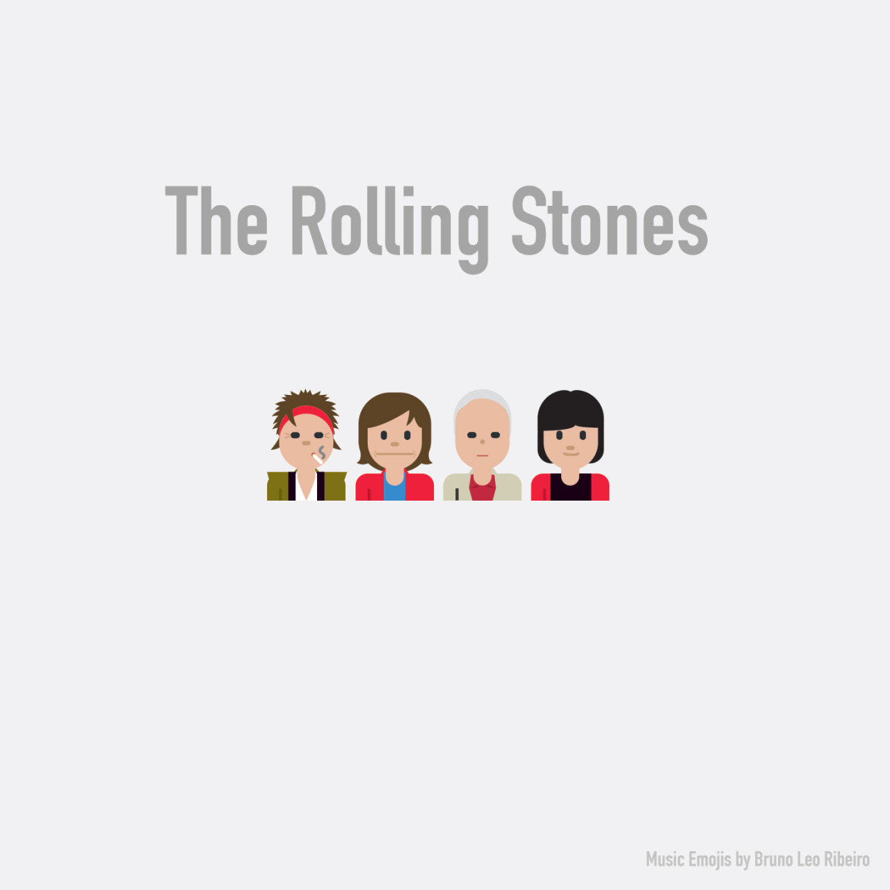 The Rolling Stones emoji