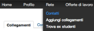Export Contatti Linkedin Step 1