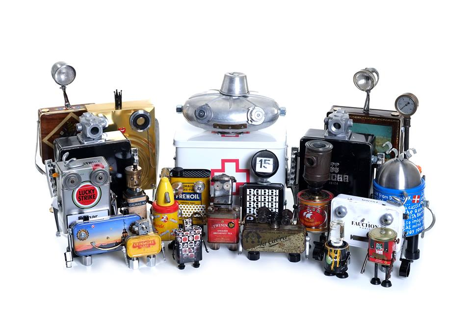Recupera vecchi pezzi metallici e crea robot l iniziativa for Fai da te oggetti