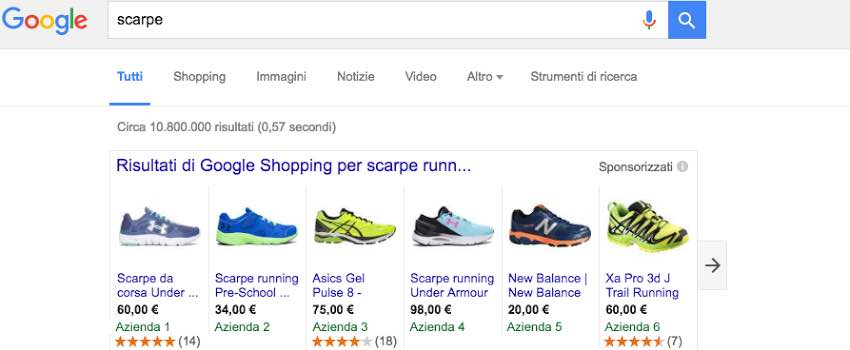 google-shopping-vantaggi