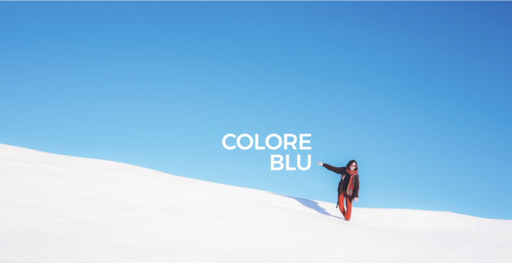 colore blu marketing